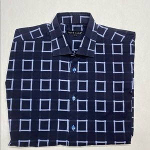 JARED LANGE size L CASUAL BUTTON DOWN